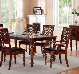 Creswell 60″ Dining Table w/ 18″ Leaf by Homelegance