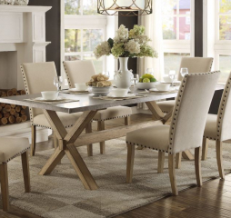 Luella Dining Table by Homelegance