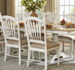 Hollyhock Dining Table by Homelegance