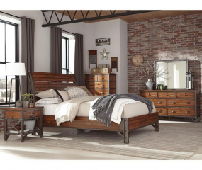 Holverson Platform Bed by Homelegance