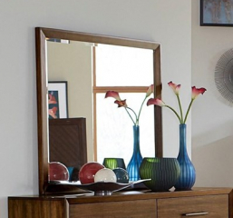 Raku Mirror by Homelegance