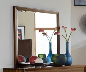 Raku Mirror by Homelegance