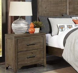 Lyer Nightstand by Homelegance