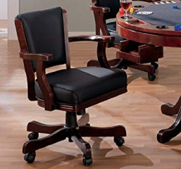 Mitchell Traditional Merlot Game Chair by Coaster