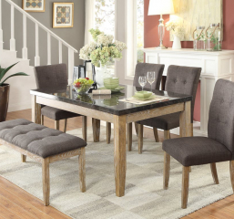Huron Dining Table by Homelegance