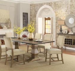 Veltry Dining Table by Homelegance
