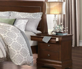 Abbeville Nightstand by Homelegance