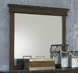 Schleiger Mirror by Homelegance