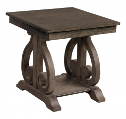Toulon End Table by Homelegance