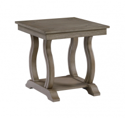 Vermillion End Table by Homelegance