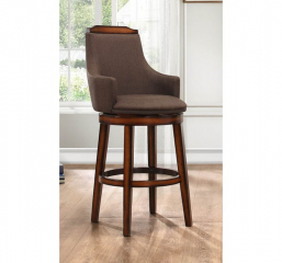 Bayshore Swivel Counter Height Chair by Homelegance