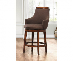 Bayshore Swivel Pub Height Chair by Homelegance
