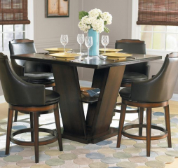 Bayshore Counter Height Table by Homelegance