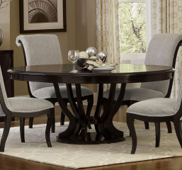 Savion Round Dining Table by Homelegance