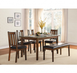 Delmar Six Piece Dinette by Homelegance