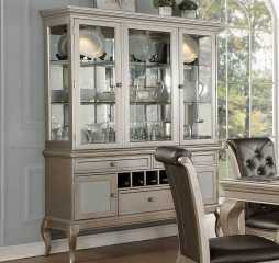 Crawford Buffet and Hutch by Homelegance