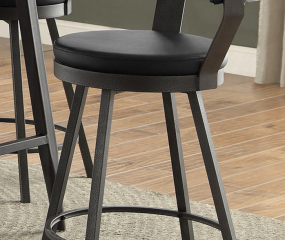 Appert Swivel Counter Height Chair by Homelegance