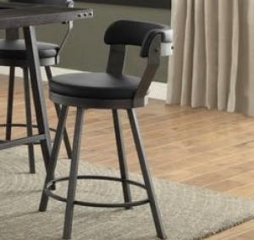 Appert Swivel Pub Height Chair by Homelegance