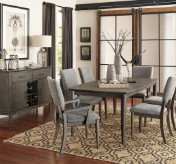Roux 60″ Dining Table w/ 18″ Leaf by Homelegance