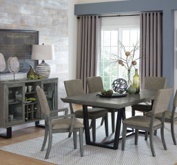 Avenhorn 60″ Dining Table w/ 18″ Leaf by Homelegance