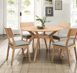 Hamar Round Dining Table by Homelegance