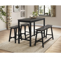 Visby Counter Height Four Piece Set by Homelegance