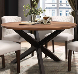 Nelina Round Dining Table by Homelegance