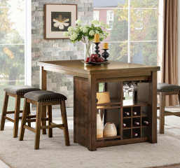 Brindle Counter Height Table by Homelegance