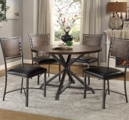 Fideo Round Dining Table by Homelegance