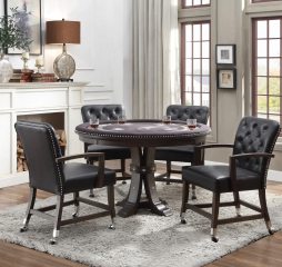 Ante Round Dining/Game Table by Homelegance