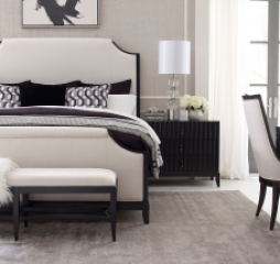 Symphony Upholstered Bed by Legacy Classic