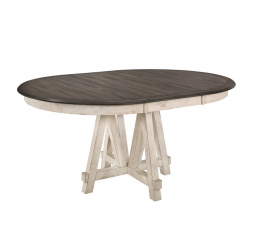 Clover Round/Oval Dining Table by Homelegance