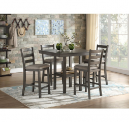 Sharon Counter Height Five Piece Set by Homelegance