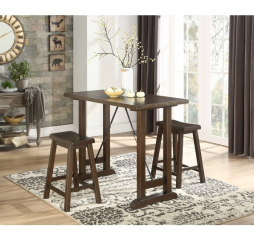 Bracknell Counter Height Three Piece Set by Homelegance