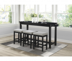 Connected Counter Height Four Piece Set by Homelegance