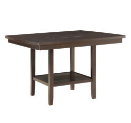 Balin Counter Height Table w/ Lazy Susan by Homelegance