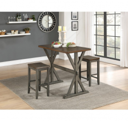 Brisa Counter Height Three Piece Set by Homelegance