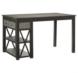 Elias Counter Height Table by Homelegance