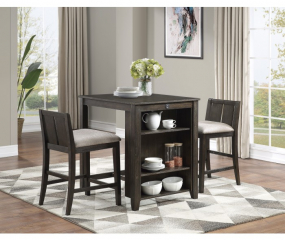 Daye Counter Height Three Piece Set by Homelegance