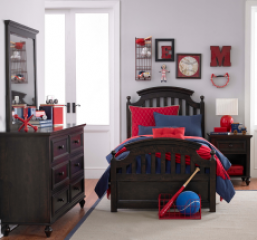 Academy Twin Panel Bed by Legacy Classic Kids