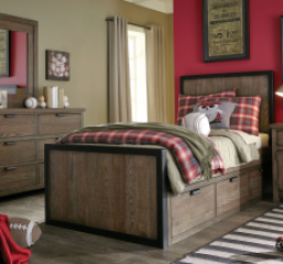 Fulton County Panel Bed by Legacy Classic