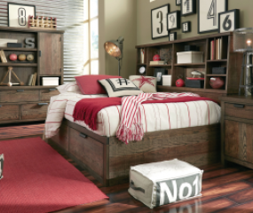 Fulton County Bookcase Lounge Bed by Legacy Classic Kids