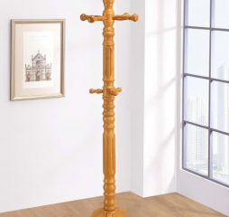 Light Honey Three Tier Coat Rack by Coaster