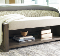 Highline Upholstered Bench by Legacy Classic
