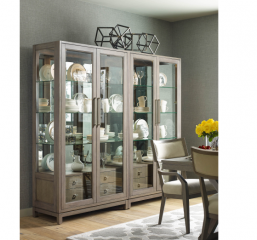 Highline Rachel Ray Bunching Display Cabinet by Legacy Classic