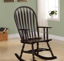 Windsor Arched Back Cappuccino Rocking Chair by Coaster