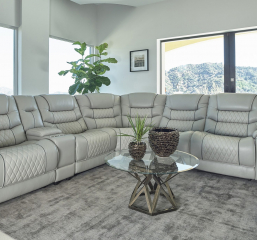 Garnet Six Piece Modular Power Sectional by Coaster