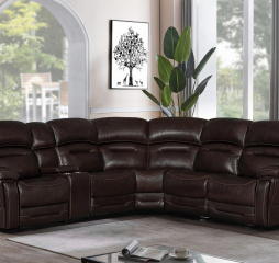 Amanda 6 Piece Pillow Top Sectional by Coaster