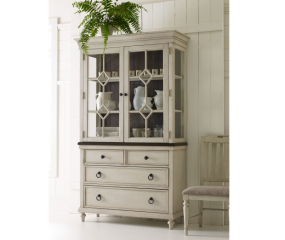 Brookhaven China Base and Hutch by Legacy Classic