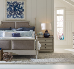 Brookhaven Upholstered Bed by Legacy Classic